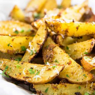 Garlic Potato Wedges, available to order online