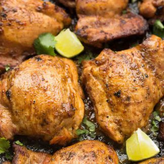 Cooked Chicken Thighs - ready to order online now!