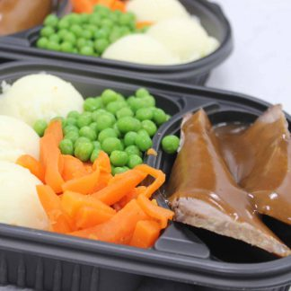 Large Roast beef dinner - available to order online today!