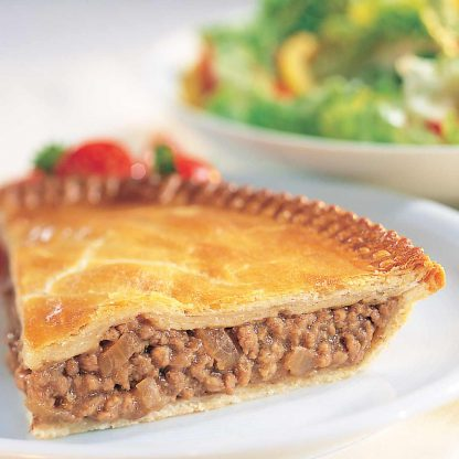 Small mince and onion pie - perfect for lunch. Order online today
