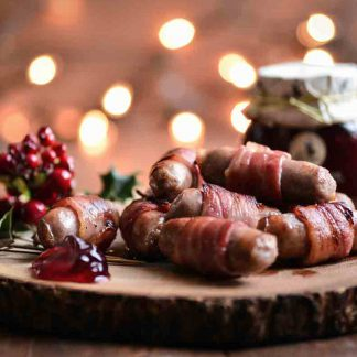 Christmas Fav - Pigs in Blankets, now available for home delivery.