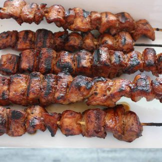 Pork grill sticks - perfect for the BBQ!