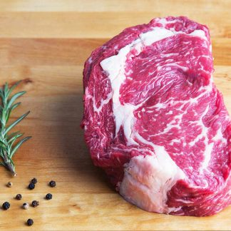 Ribeye steak - available for home delivery