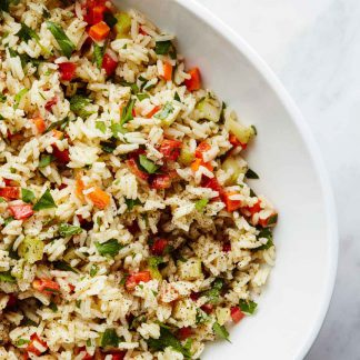 Rice salad - Home delivery