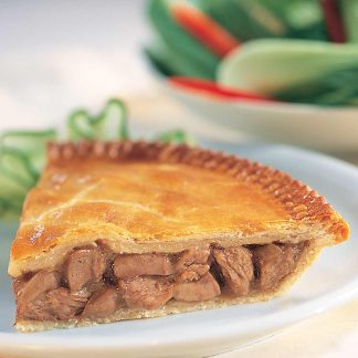Steak and Onion pie - available for home delivery